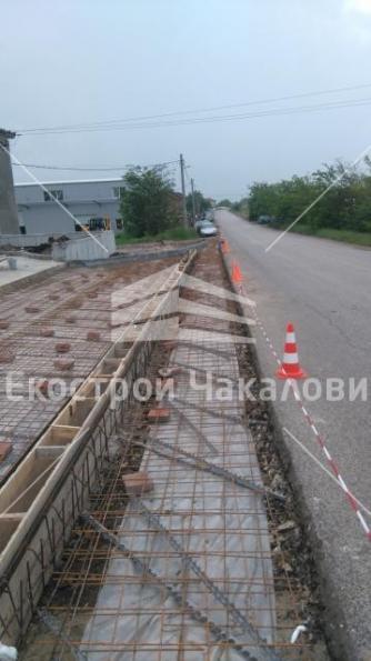 Пътна връзка на обект Зеленчукова борса в с.Плодовитово