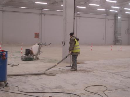Възстановяване на стари бетонови подове